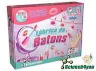 Fábrica de Batons: Descobre a ciência por detrás dos batons e e do gloss e cria a tua coleção!