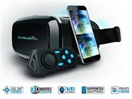Óculos 3D de Realidade Virtual 360º Plus com Comando Bluetooth para Smartphones