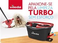 Easy Wring & Clean TURBO: Novo Balde com Pedal e Esfregona da VILEDA.