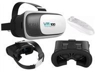 Óculos 3D de Realidade Virtual para Smartphones com Comando Bluetooth