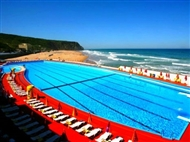 Hotel Arribas na Praia Grande em Sintra