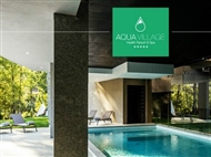 Aqua Village Health Resort & Spa 5*: Estadia VIP com jantar e massagem.