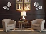 Sofá Individual em Tecido Bege: Um Design Versátil para o Espaço que Pretende na sua Sala.