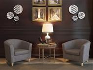 Sofá Individual em Tecido Cinza: Um Design Versátil para o Espaço que Pretende na sua Sala.
