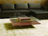 Mesa de Centro com Tampo de Vidro: Um Modelo Elegante com Pomenores que fazem a Diferença na sua Sal