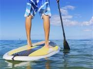Aulas de Stand Up Paddle para 1 ou 2 pessoas, na Caparica Surf Academy. Relaxe com esta Actividade!