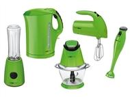 Colecção Verde: Varinha Mágica, Jarro Eléctrico, Batedeira, Picadora Multifunções e Liquidificadora