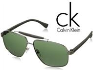 Óculos de Sol CALVIN KLEIN Gold Green. ENTREGA: 48H. PORTES INCLUÍDOS.