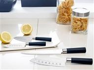 4 Facas Profissionais de Design Japonês em Aço Inox Com ou Sem Revestimento Cerâmico