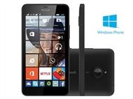 Smartphone Microsoft Lumia 640DS XL Preto Desbloqueado.