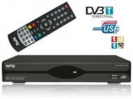 Recetor TDT com Memória para 1000 Canais de TV e Rádio, Gravador Digital, Memória de 16GB e USB