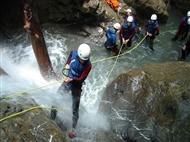 Canyoning: Actividade no Rio em Lousã, Mortágua ou Arouca.