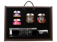 Caixa de Madeira Especial Seduction II da Casa da Prisca: Compostas por 5 Deliciosos Produtos