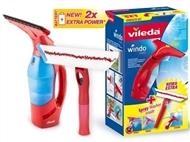 WindoMatic Set da VILEDA: Aspirador de vidros sem fios e Mopa com pulverizador incorporado.