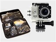 Câmara de Video Digítal Multi-Sport com Caixa Estanque com ou sem KIT de Acessórios