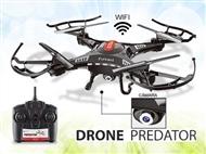 Drone Predator com Câmara de 0.3MP WIFI: Fácil de Comandar para as mais Divertidas Acrobacias