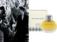 Eau de Parfum Burberry Woman de 100 ml. Uma fragrância frutada oriental, tão fresca quanto sensual