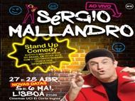 STAND UP COMEDY com Sérgio Mallandro em Lisboa.