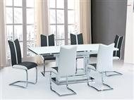 Mesa Extensível para um Máximo de 6 Pessoas em Branco: Reúna a sua Família e Amigos
