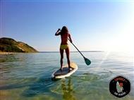STAND UP PADDLE para 1 ou 2 pessoas na Caparica Surf Academy. Relaxe com esta Actividade!