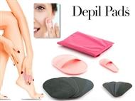 Conjunto Depil Pads que Depila e Esfolia a sua pele sem irritações ou produtos químicos.
