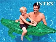 Crocodilo Insuflável. PORTES INCLUIDOS.