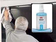 Solução de Limpeza com Spray de 200ml para Ecrãs e Pano Microfibras