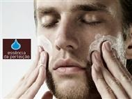 Essência da Perfeição Bairro Azul: Spa Facial de Luxo Especial peles Masculinas