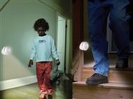 Luz de Presença com Sensor de Movimento Adequado para Uso Interno e Externo