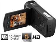 Câmara de Video Digítal HD de 5MP compatível com Cartões SD até 32GB