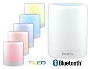 Coluna Portátil LED Multicolor e Bluetooth 4.0 até 10 metros com Função Mãos-Livres