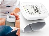 Medidor de Tensão Arterial e Pulsações de Pulso Automático com Bolsa de Transporte