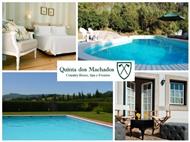 Quinta dos Machados Country House & SPA: 1 a 5 Noites de Romance em Mafra, a um passo da Ericeira.