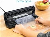Embalador a Vácuo: Embale a Vácuo os seus Alimentos para uma Conservação mais Prolongada.