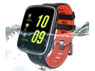SMARTWATCH Resistente à Água até 3 metros com Ligação Bluetooth ao Smartphone e 2 Pulseiras