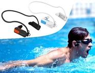 Auriculares com MP3 Integrado, 4GB e Preparado para estar Submerso até 3m de Profundidade