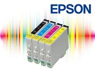 Conjunto de Tinteiros Compatíveis com Impressoras EPSON