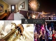 Réveillon no Vila Galé Porto 4*: 2 Noites, Tratamento VIP, Cocktail, Festa de Réveillon com Jantar