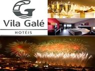 Especial Réveillon num HOTEL VILA GALÉ  4*: 2 Noites, Tratamento VIP, Cocktail, Festa de Réveillon.