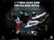 Lostroom - 1º ESCAPE ROOM EM REALIDADE VIRTUAL em Lisboa de 2 a 6 Pessoas.