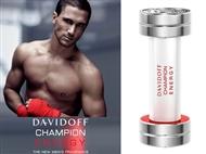 Eau de Toilette DAVIDOFF CHAMPION ENERGY de 90 ml para Homem. Uma Fragrância Energética.