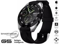 Relógio Inteligente G5 Prateado - SmartWear Technology with Style. PORTES INCLUIDOS.
