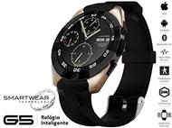 Relógio Inteligente G5 Dourado - SmartWear Technology with Style. PORTES INCLUIDOS.