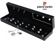 Conjunto Pierre Cardin Crystal Pendant Silver com 1 Colar, 6 Pares de Brincos e 3 Pendentes.