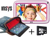 """Tablet de Criança KidsPad 7"""" em Rosa com 32GB, 512MB RAM, 1.2GHz e Android e OFERTA de Bolsa"""