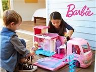 Autocaravana de Sonho da Barbie. A autocaravana que se expande e muito mais.