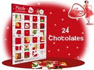 1 ou 2 Puzzles da REGINA. Um jogo com 24 figuras de chocolate de leite para te deliciares