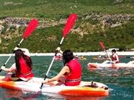 Canoagem em Sesimbra para 1 ou 2 pessoas. Um momento único em águas cristalinas!