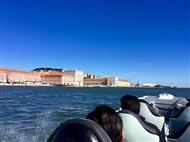 Conheça Lisboa a partir do Rio Tejo: Tour Monumentos em Barco Semi-Rígido. Veja o Video!