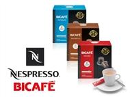 50, 100 ou 150 Cápsulas Bicafé compatíveis com Máquinas NESPRESSO.